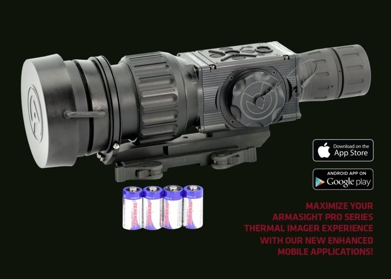 Armasight Apollo-Pro LR 640 100mm (60 Hz) specifications