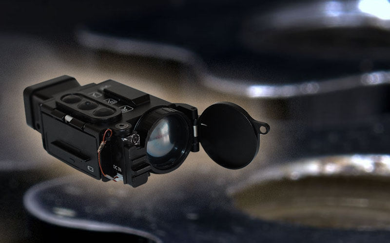 Front view of the IR&D Micro 2 Thermal Imaging Camera