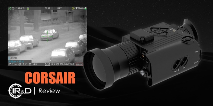 IR&D Corsair Thermal Imaging Camera Review