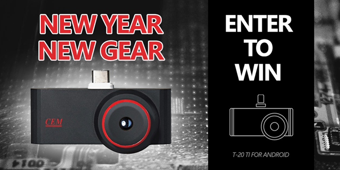 Subscribe and win a thermal imaging camera