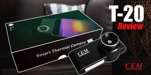 Review of the CEM T-20 Thermal Imaging Camera for Android
